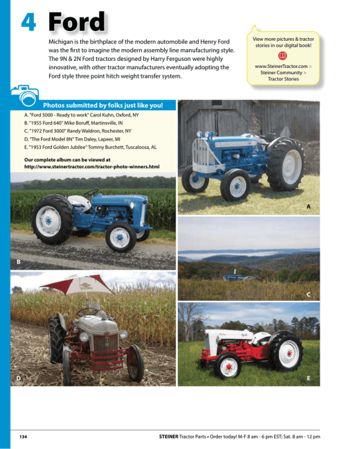 small resolution of ford 4 steiner tractor parts