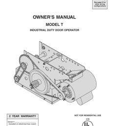 owner s manual t industrial door operator manualzz com on start stop timer  [ 791 x 1024 Pixel ]