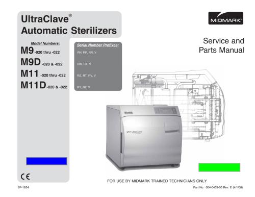small resolution of m9 d m11 d sterilizer autoclave solutions manualzz com midmark autoclave m11 wiring diagram