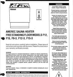 amerec sauna heater [ 793 x 1024 Pixel ]