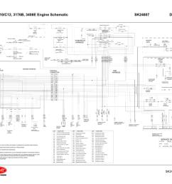 cat c10 c12 3176b 3406e engine schematic sk24807 manualzz com [ 1024 x 791 Pixel ]