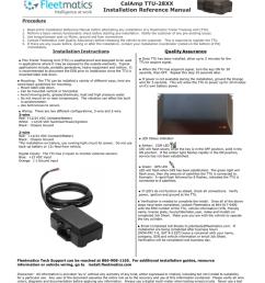 fleetmatics wiring diagram electrical wiring diagram calamp ttu 28xx installation guide manualzz comfleetmatics wiring diagram 16 [ 791 x 1024 Pixel ]