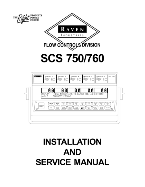 small resolution of raven scs 4400 wiring diagram wiring diagramsscs  750 760 raven help manualzz com