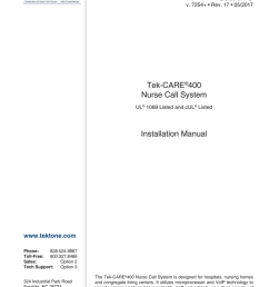 addressable nurse call wiring diagram [ 791 x 1024 Pixel ]