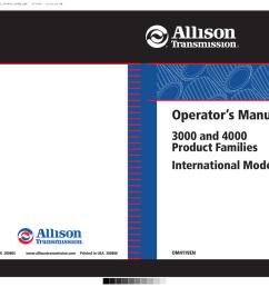 allison allison hd4060 transmission operator manual manualzz com on allison 1000 filter allison 1000  [ 1024 x 809 Pixel ]