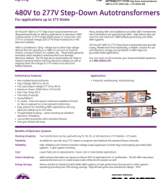 480v to 277v step down autotransformers [ 791 x 1024 Pixel ]