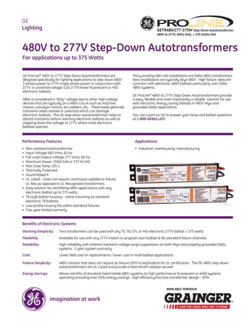 small resolution of 480v to 277v step down autotransformers