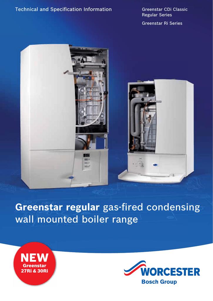 worcester greenstar ri wiring diagram vav controller regular gas fired condensing wall mounted boiler range manualzz com