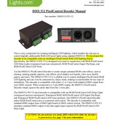 dmx decoder wiring diagram 6 pin [ 791 x 1024 Pixel ]