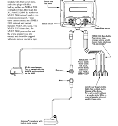 x125 and x126 df cable connection diagram [ 791 x 1024 Pixel ]