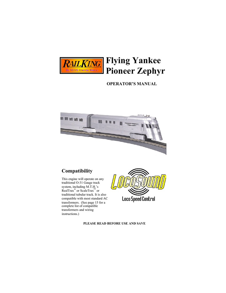 medium resolution of  flying yankee pioneer zephyr manualzz com on lionel milk car lionel subway marnold lionel wiring diagram