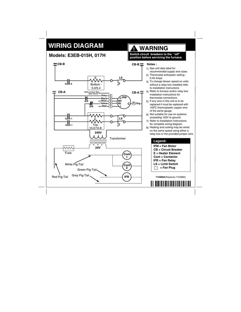 hight resolution of e3eb 015h 017h series electric furnace manualzz com e3eb 015h supply wiring diagram