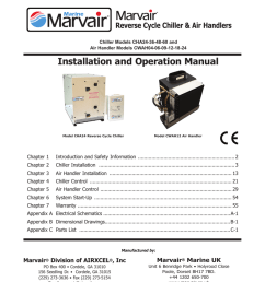 installation and operation manual tropical marine air conditioning [ 791 x 1024 Pixel ]