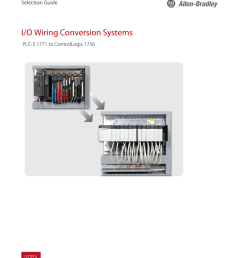 i o wiring conversion systems plc 5 1771 to [ 791 x 1024 Pixel ]