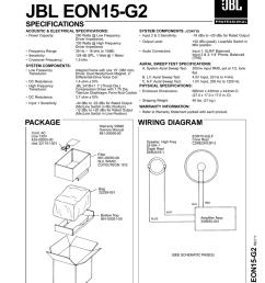 technical manual jbl eon15 g2 specifications [ 791 x 1024 Pixel ]