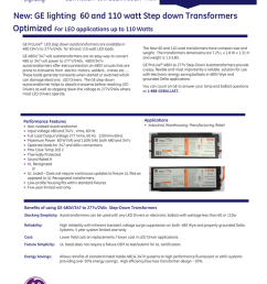 brochure step down transformers for led fixtures [ 791 x 1024 Pixel ]