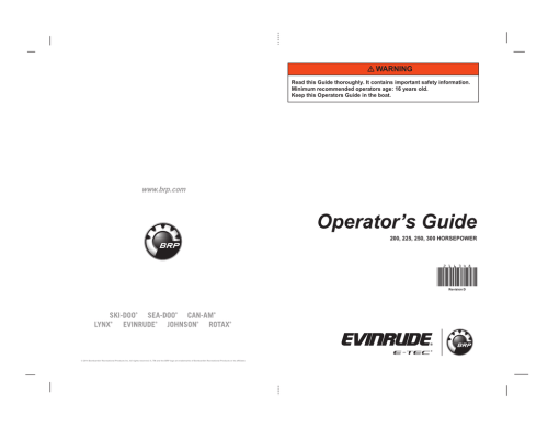 small resolution of 216348 x986 evinrude e tec book brp