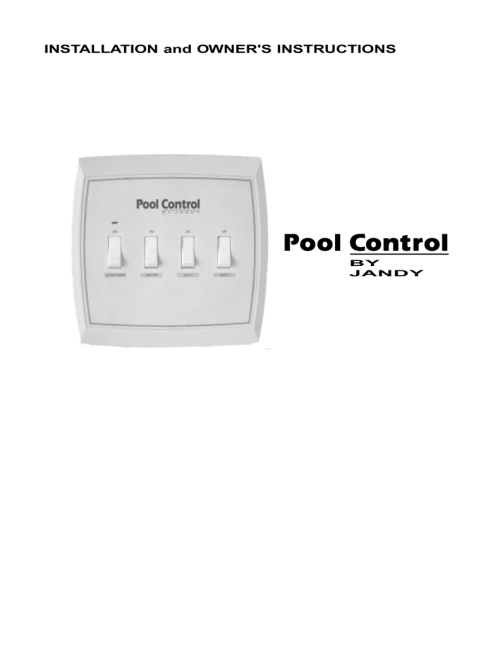 small resolution of jandy pool control