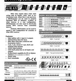 gray dmx repeater [ 791 x 1024 Pixel ]