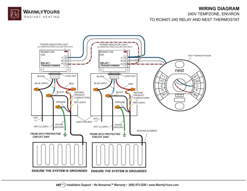 small resolution of nest 240v wiring diagram