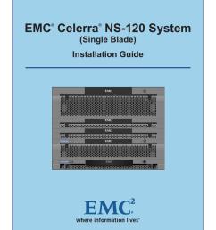 emc celerra ns 120 system single blade installation guide [ 791 x 1024 Pixel ]