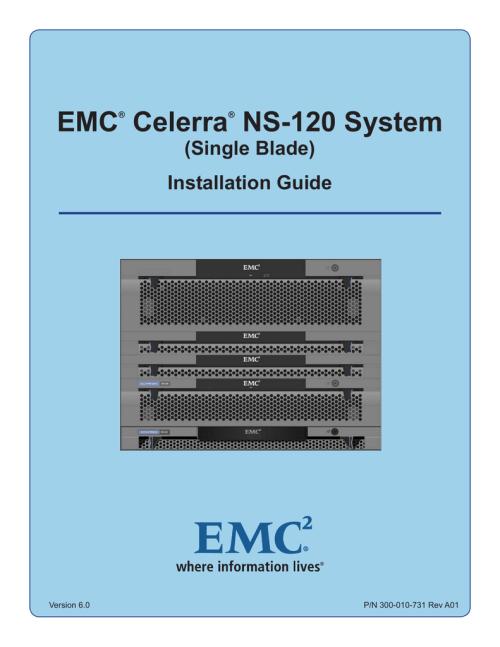 small resolution of emc celerra ns 120 system single blade installation guide
