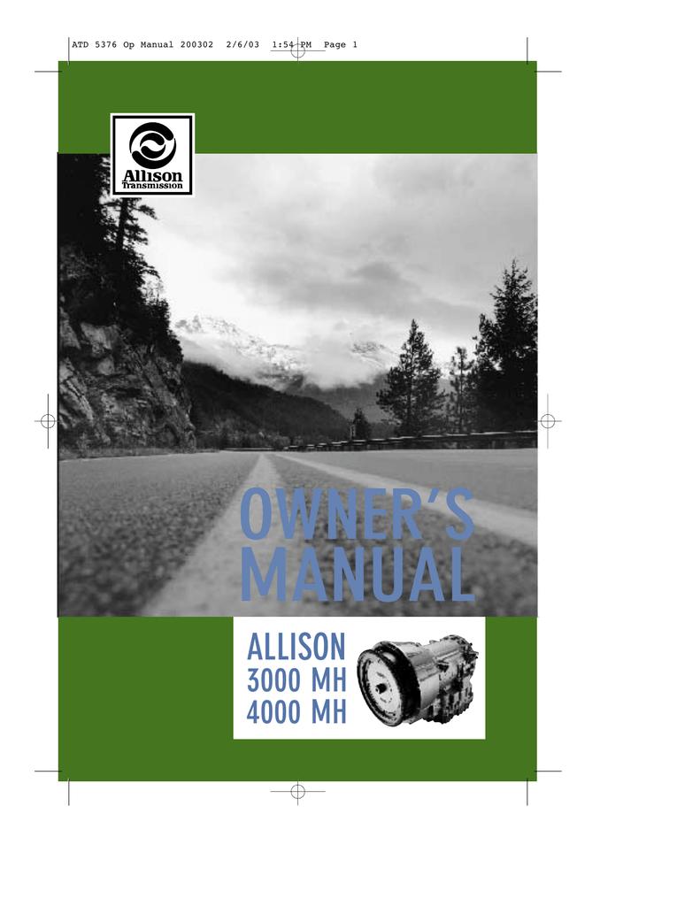 hight resolution of  allison transmission manualzz com on allison 1000 filter allison 1000 parts allison