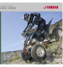 we have a full line of yamaha genuine accessories designed specially for your utility and or leisure atv to enhance its aggressive style and leading  [ 1024 x 1024 Pixel ]