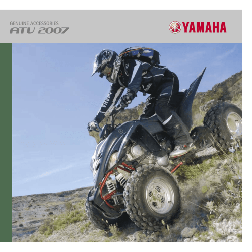 small resolution of we have a full line of yamaha genuine accessories designed specially for your utility and or leisure atv to enhance its aggressive style and leading