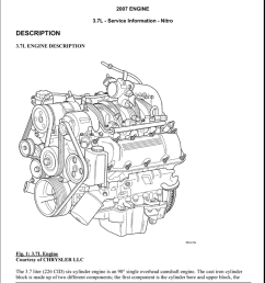2007 dodge nitro 3 7l engine diagram wiring diagram operations dodge 37l engine diagram [ 791 x 1024 Pixel ]