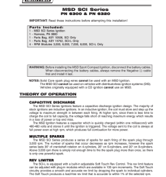 msd 6300 ignition kit installation instructions manualzz com wiringpdf is from msd itshould have come with the msd unit you got source msd wiring diagram  [ 791 x 1024 Pixel ]