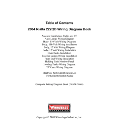 table of contents 2004 rialta 222qd wiring diagram book manualzz comtable of contents 2004 rialta 222qd [ 1024 x 791 Pixel ]