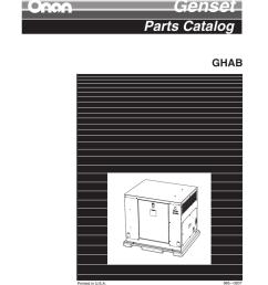 965 0207 onan ghab spec a genset parts manual [ 791 x 1024 Pixel ]