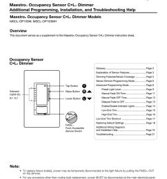 lutron maestro mscl op153m la troubleshooting manualzz com lutron occupancy sensor wiring diagram and instructions [ 791 x 1024 Pixel ]