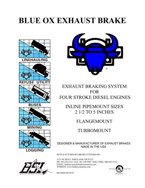 small resolution of  blue ox exhaust ke manualzz com air compressor wiring schematic gm on
