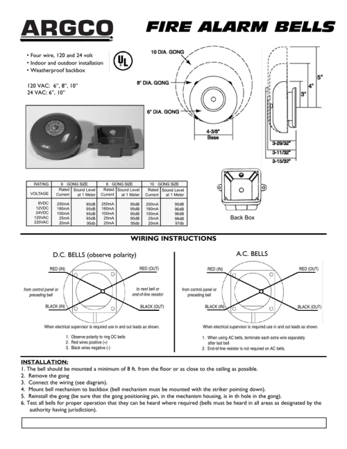 small resolution of fire alarm bell wiring diagram