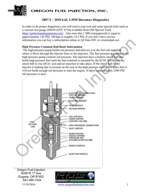 small resolution of pdf 2007 5 2010 6 6l lmm duramax manualzz com technical support manual