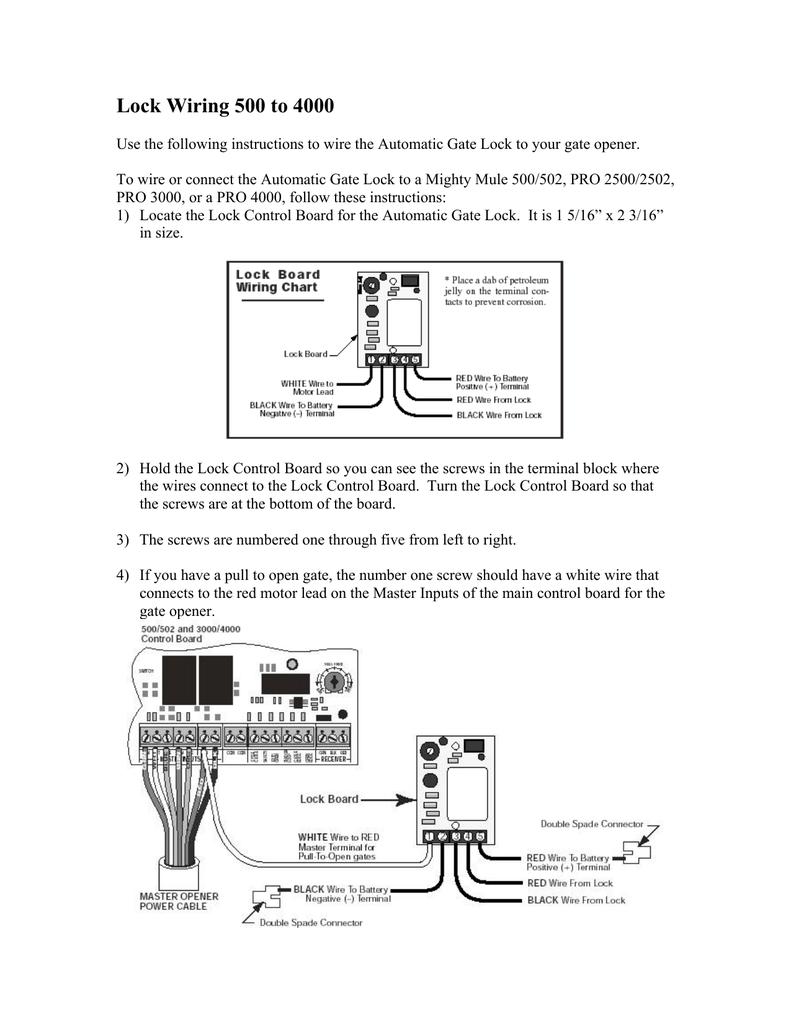 medium resolution of five lock wire diagram