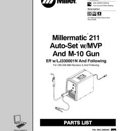 millermatic 211 auto set w mvp and m 10 gun manualzz commillermatic 211 wiring schematic  [ 791 x 1024 Pixel ]