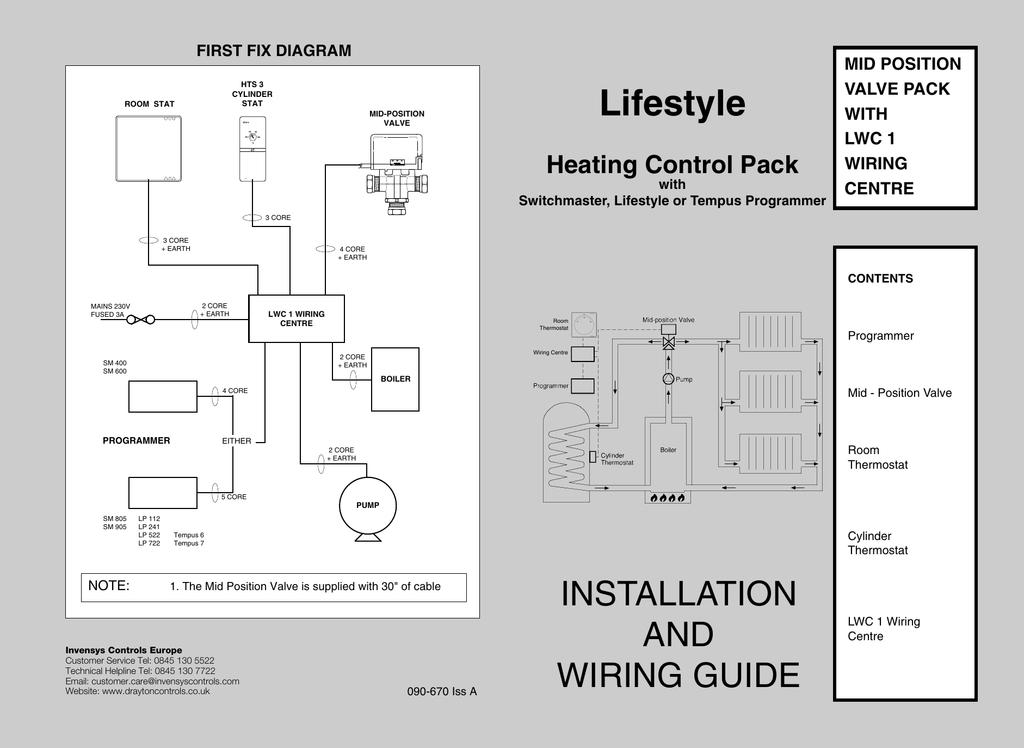 switchmaster mid position valve wiring diagram box trailer australia lifestyle drayton controls manualzz com