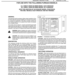 furnace twinning control installation manualzz com twinning furnaces wiring diagram for gas [ 791 x 1024 Pixel ]