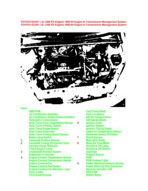 Toyota 1nz Fe Engine Wiring Diagram  Wiring Diagram