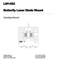 lm14s2 butterfly laser diode mount [ 791 x 1024 Pixel ]