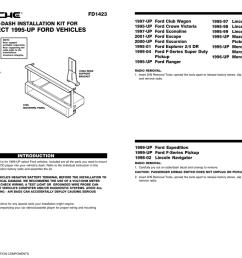 scosche stereo dash kits installation instructions [ 1024 x 791 Pixel ]