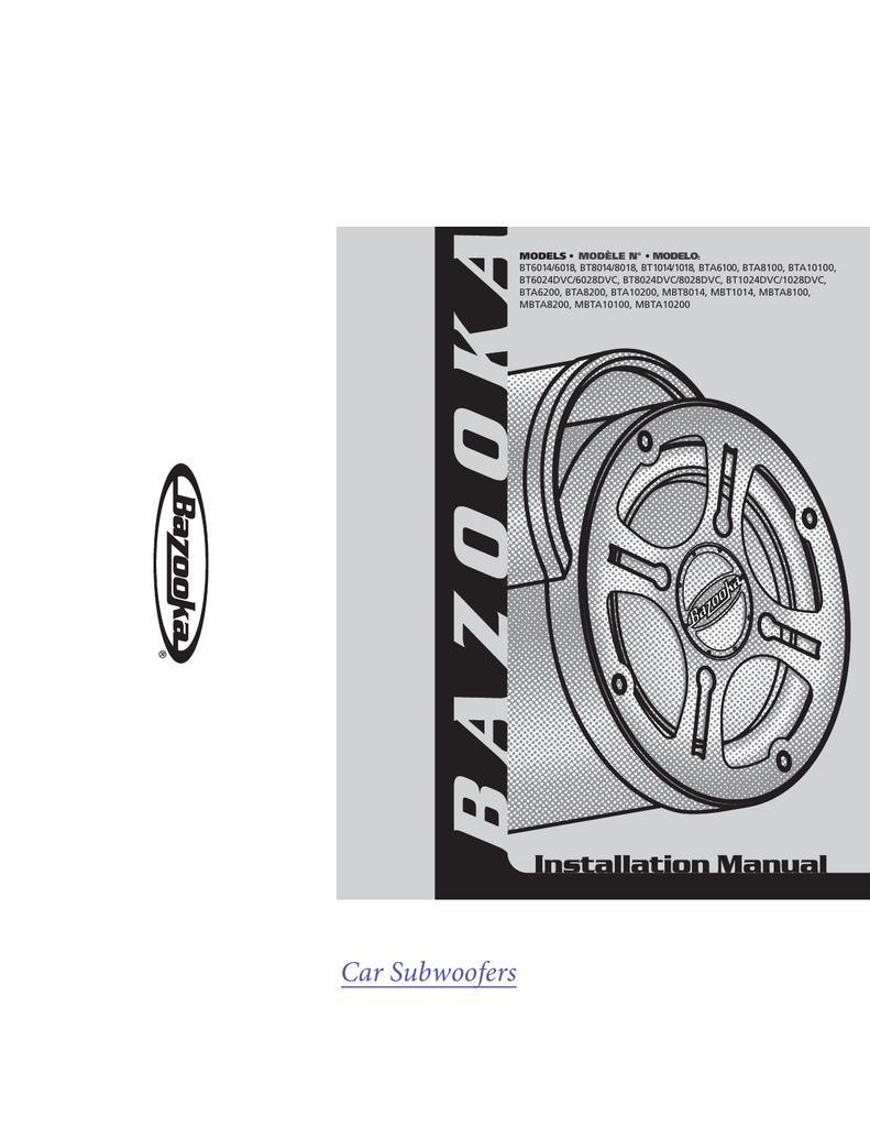 medium resolution of bazooka 6 1 2