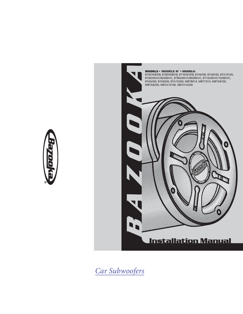 hight resolution of bazooka 6 1 2