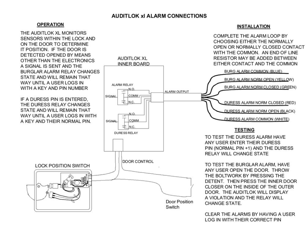medium resolution of auditlok xl alarm output wiring diagram