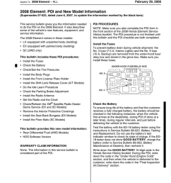 element under hood fuse box 07 wiring diagram 2008 element pdi and new model information manualzz [ 791 x 1024 Pixel ]
