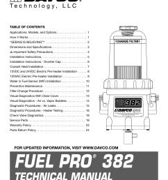 davco fuel filter housing [ 1275 x 1651 Pixel ]