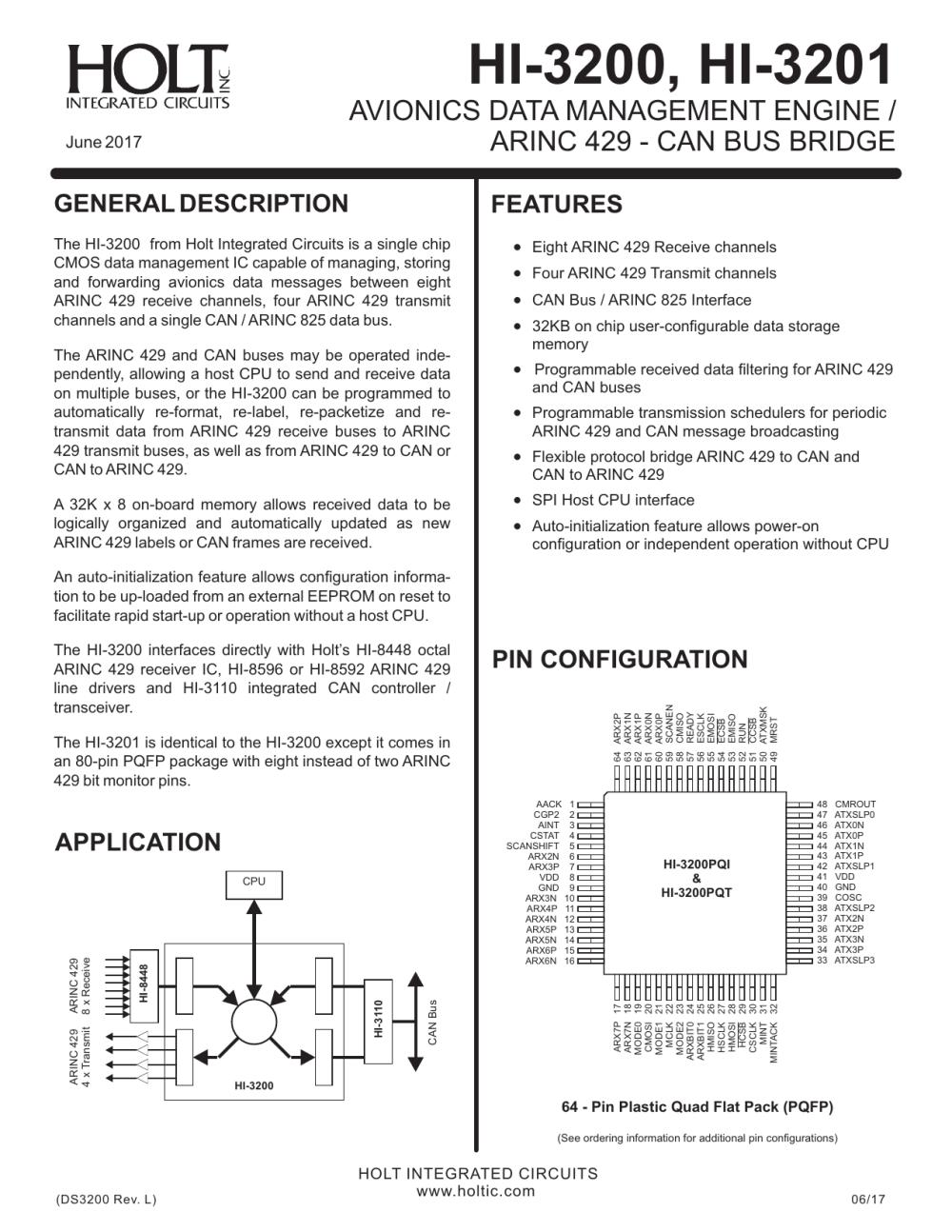 medium resolution of hi 3200 hi 3201 holt integrated circuits